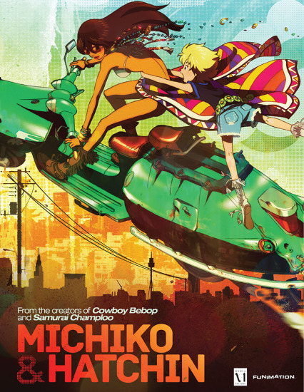 Michiko to Hatchin Anime Cover