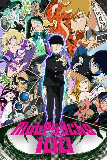Mob Psycho 100 Anime Cover