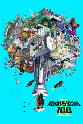 Watch Mob Psycho 100 II Anime Online | Anime-Planet