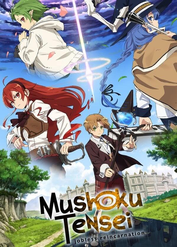 Mushoku Tensei: Isekai Ittara Honki Dasu Anime Cover