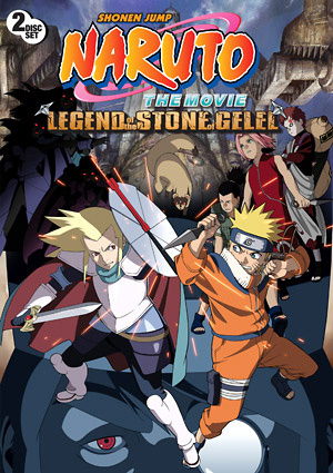 Naruto Movie 2: Legend of the Stone of Gelel   Anime-Planet