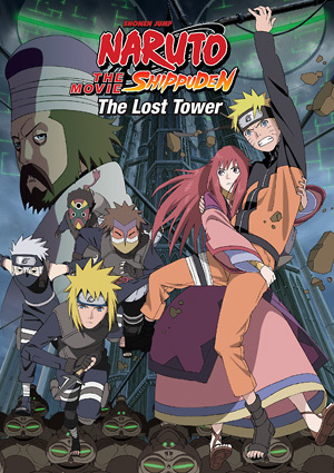 Naruto Shippuden Movie 4: The Lost Tower Anime Reviews