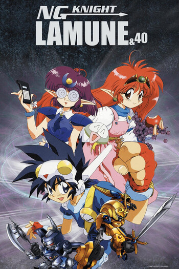 NG Knight Lamune & 40 | Anime-Planet Darkness