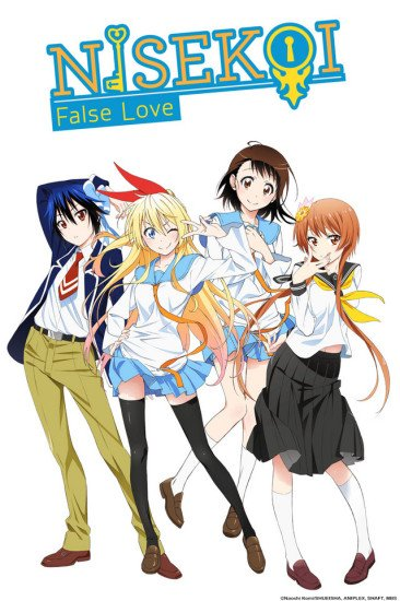 Nisekoi Anime Cover