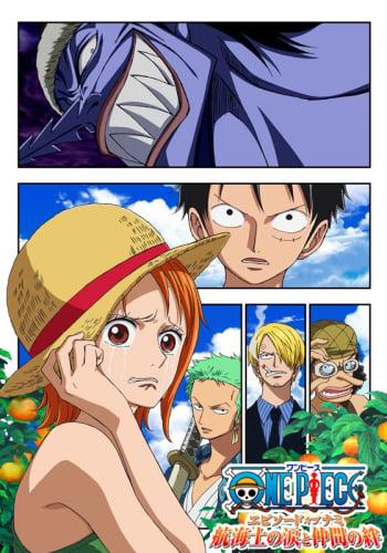 One Piece Episode Of Nami Koukaishi No Namida To Nakama No