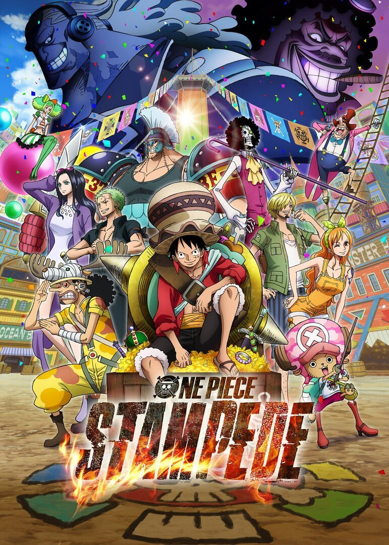 One Piece Movie 14: Stampede Anime Recommendations   Anime-Planet