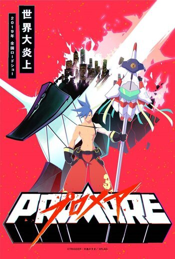 X Out Reviews >> Promare: Galo-hen | Anime-Planet