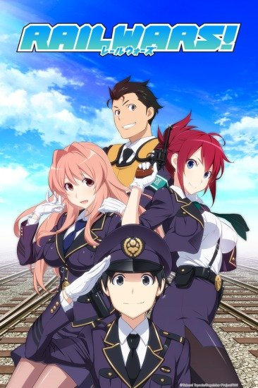 Rail Wars! Anime Cover