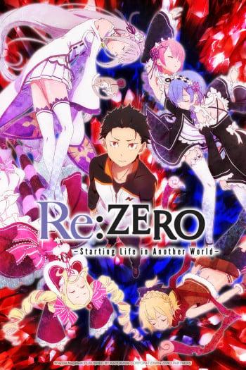 Re:Zero kara Hajimeru Isekai Seikatsu Anime Cover