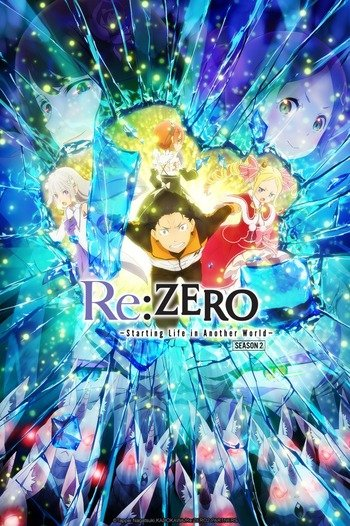 Re:Zero kara Hajimeru Isekai Seikatsu 2nd Season Part 2 Anime Cover