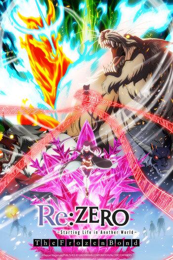 Re:Zero kara Hajimeru Isekai Seikatsu - Hyouketsu no Kizuna Anime Cover