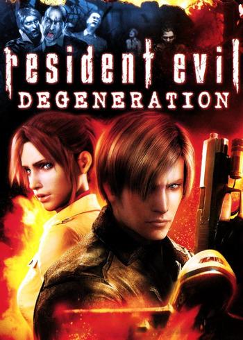 resident evil degeneration animeplanet