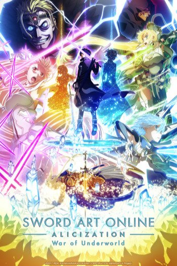Sword Art Online: Alicization - War of Underworld 2nd Season Anime Cover