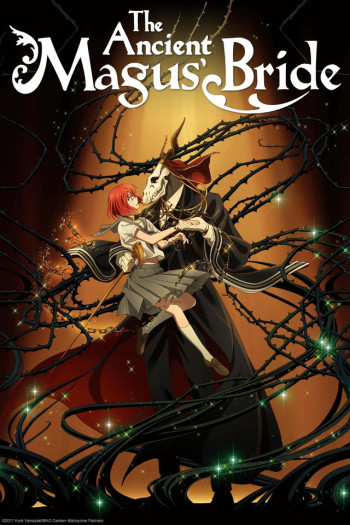 Mahoutsukai no Yome Anime Cover