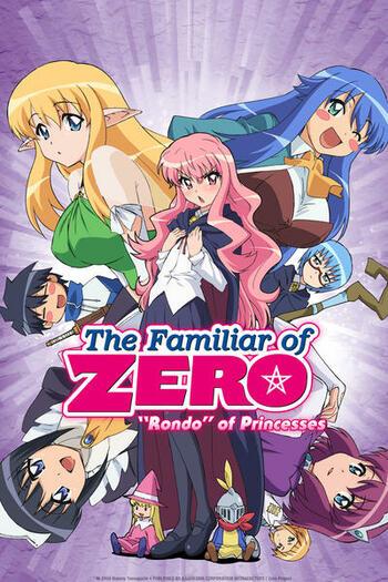 Anime like zero no tsukaima
