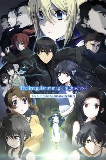 Mahouka Koukou no Rettousei Movie: Hoshi wo Yobu Shoujo Anime Cover