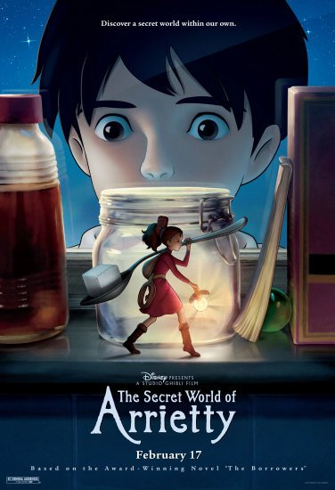 The Secret World of Arrietty main image