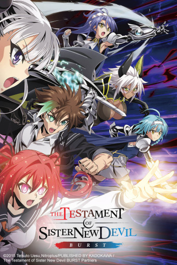 The testament of sister new devil burst kiss anime