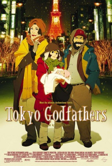Tokyo Godfathers Anime Cover