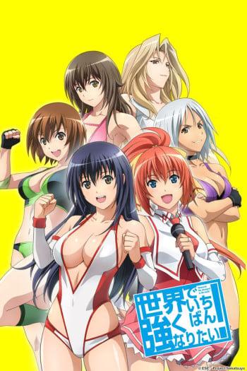 Sekai de Ichiban Tsuyoku Naritai! Anime Cover