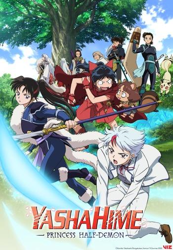 Hanyou no Yashahime: Sengoku Otogizoushi Anime Cover