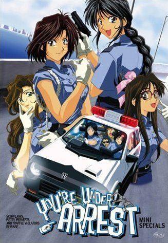 you re under arrest mini specials anime planet