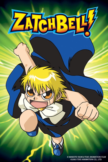 Zatch Bell Anime Recommendations Anime Planet
