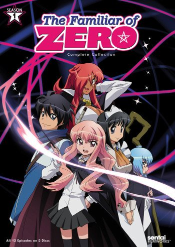 Zero No Tsukaima Go To Anime