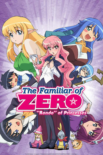 Zero no Tsukaima: Princess no Rondo