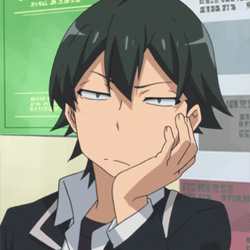 Yahari Ore no Seishun Love Come wa Machigatteiru. Main Image
