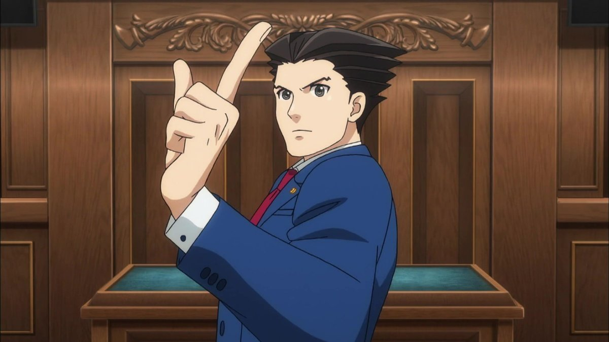 ace attorney anime bad animation