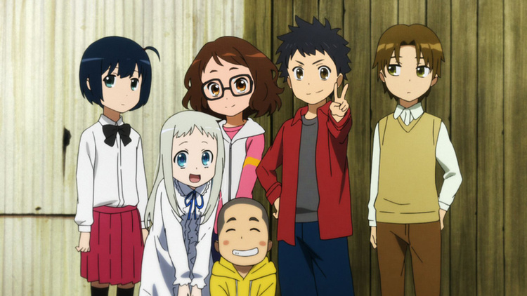 Anohana The Flower We Saw That Day Movie