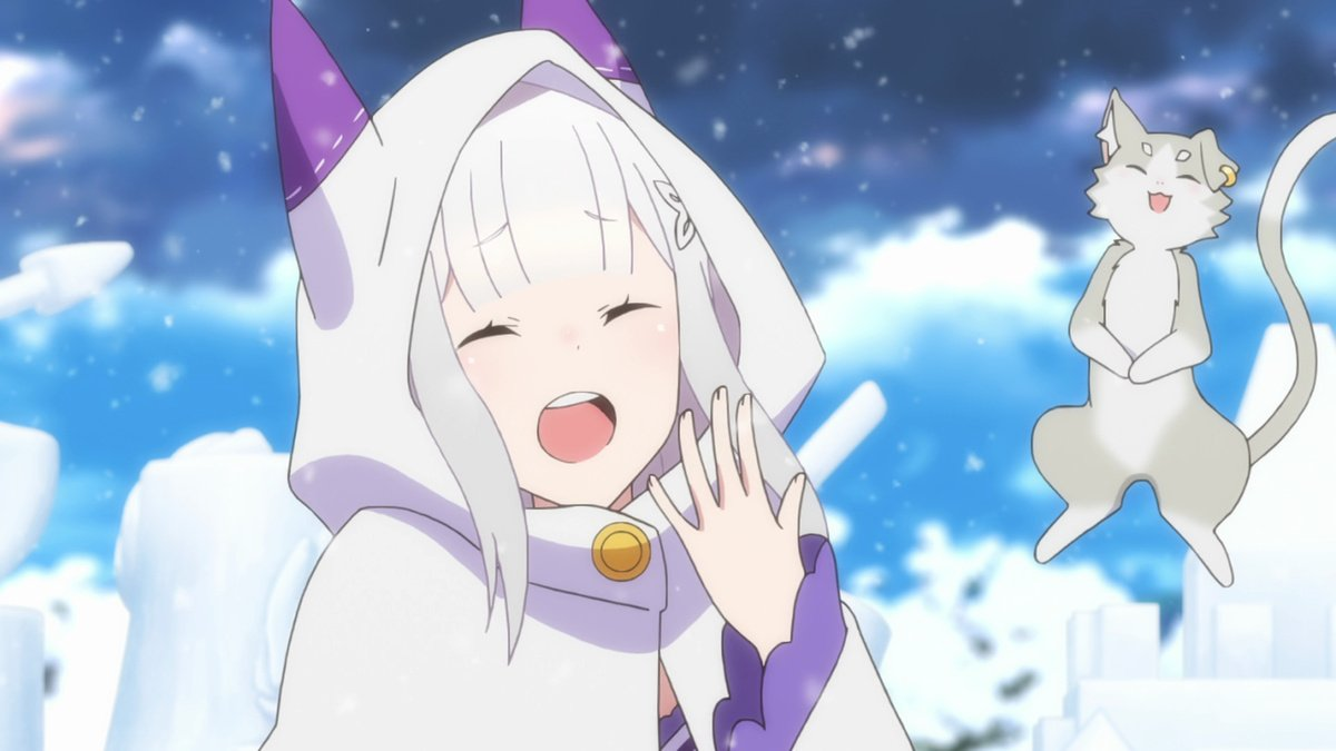 Re Zero Starting Life In Another World Memory Snow Anime Planet
