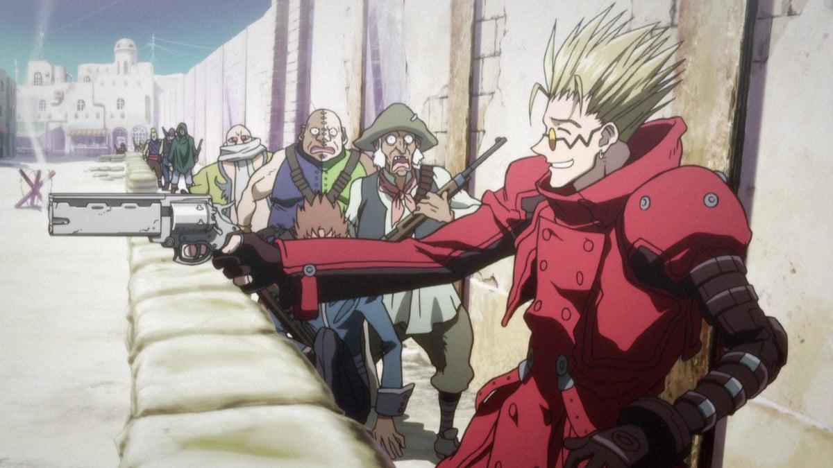 Trigun Badlands Rumble Anime Planet