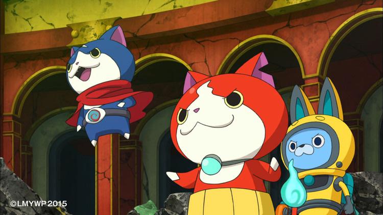 youkai watch movie 2 enma daiou to itsutsu no monogatari da nyan