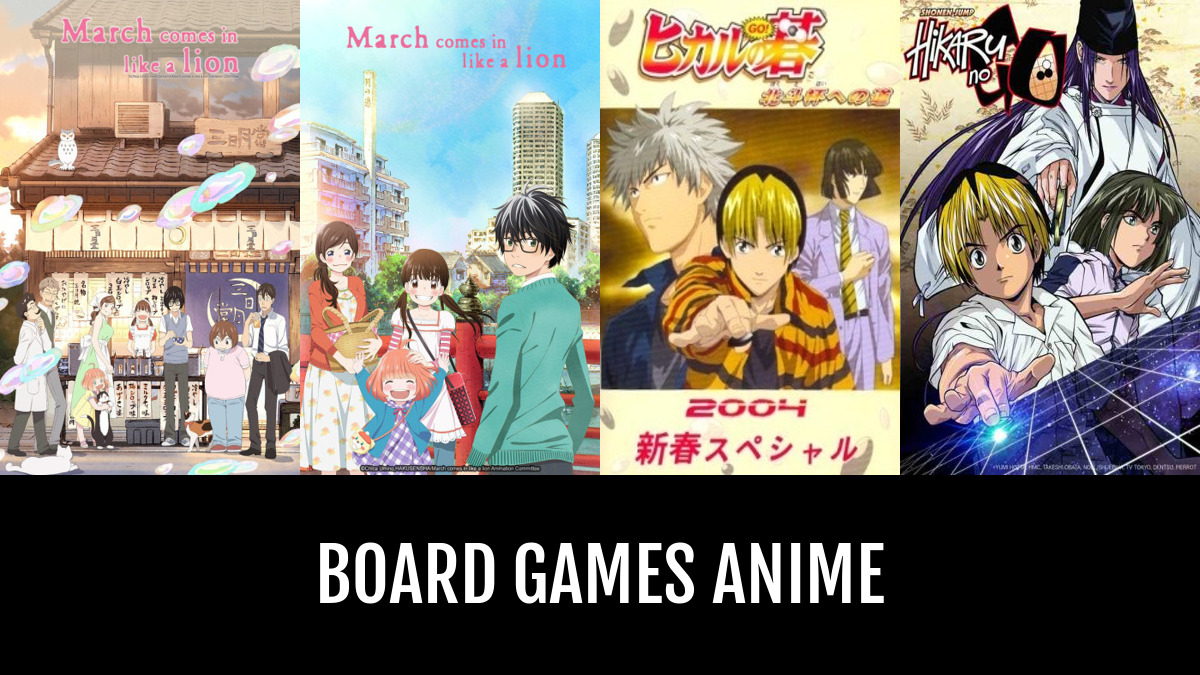 Best Board Games Anime