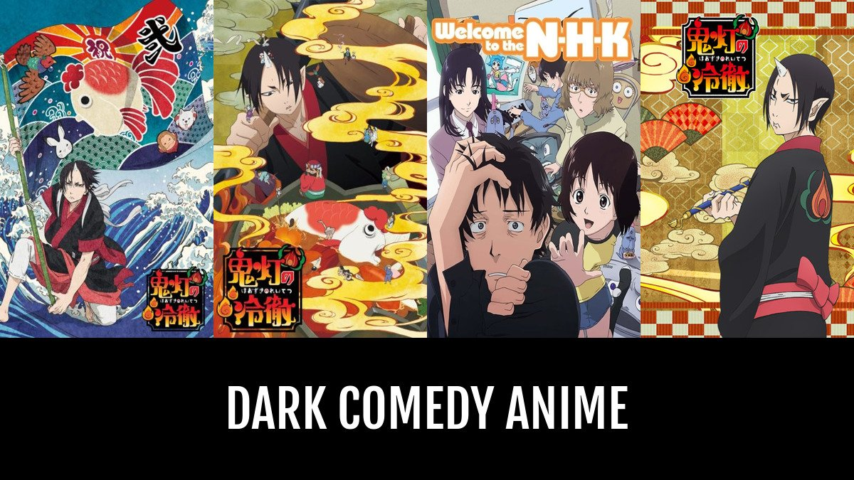 Best dark comedy anime anime planet