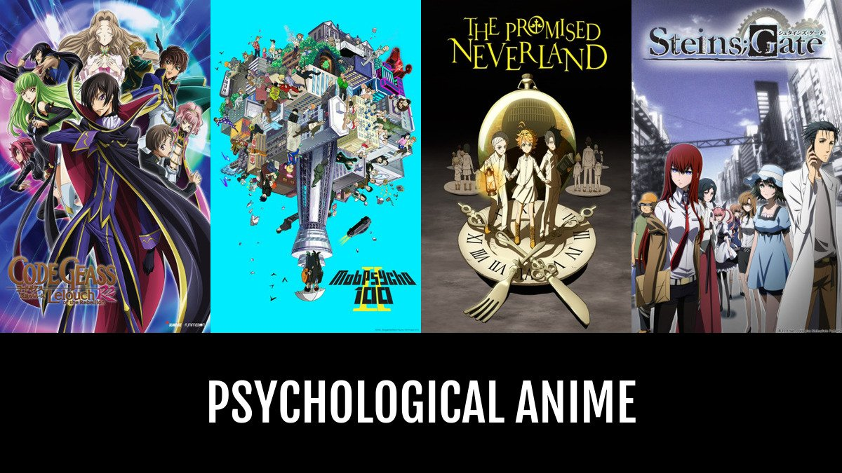 Best psychological anime anime planet