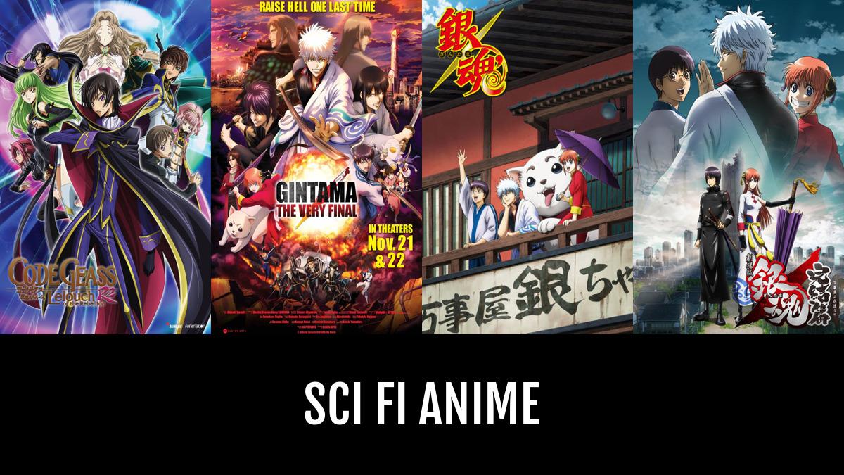 Best Sci Fi Anime