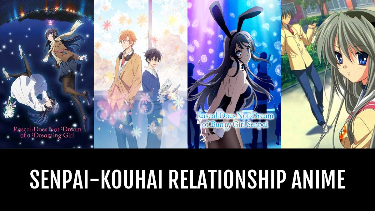 Best Senpai Kouhai Relationship Anime Anime Planet