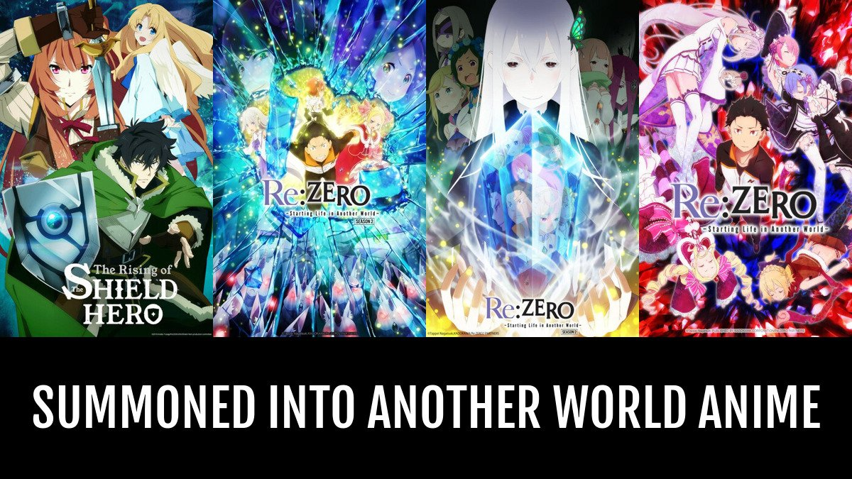 Anime about going to another world