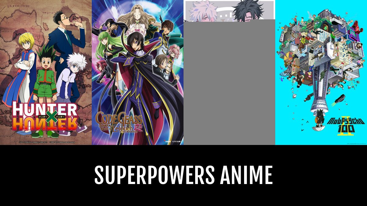 best superpowers anime