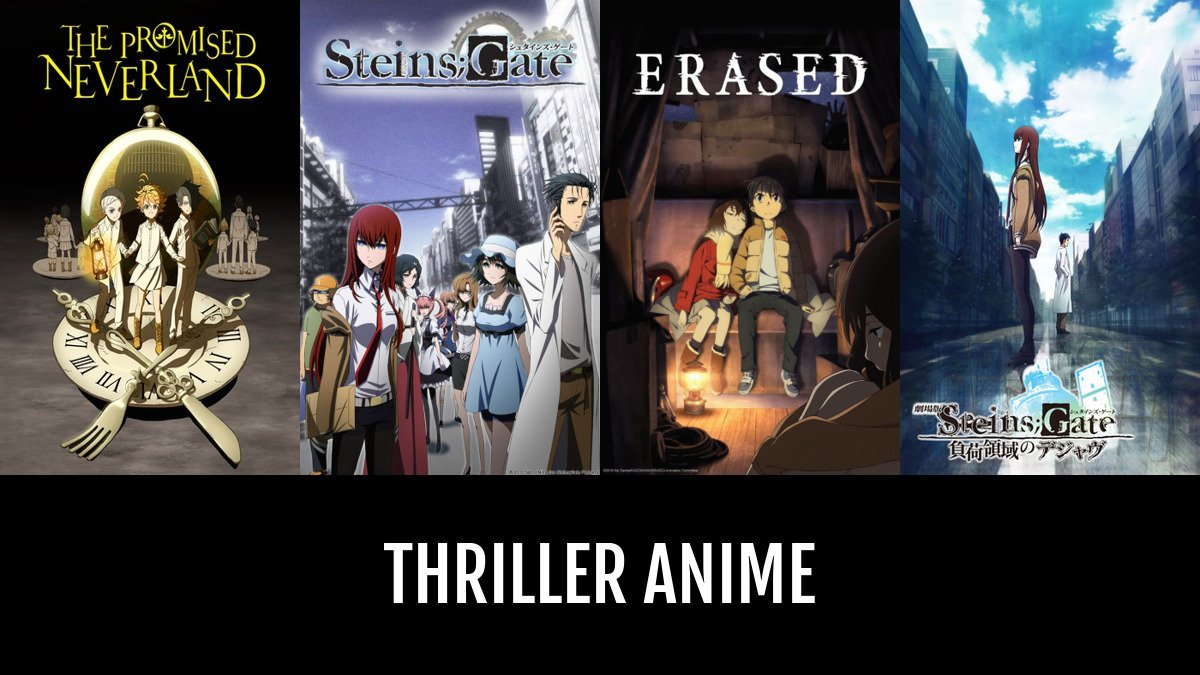 Best Thriller Anime Anime Planet