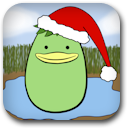 Holiday Kappa Badge Image