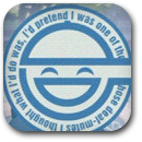 Laughing Man Badge Image