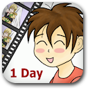 Life on Anime: 1 Day Badge Image