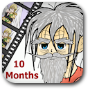 Life on Anime: 10 Months Badge Image