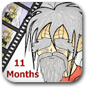 Life on Anime: 11 Months Badge Image
