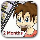 Life on Anime: 2 Months Badge Image