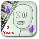 Life on Anime: 2 Years Badge Image